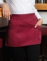 Mobile Preview: KARLOWSKY, Vorbinder Basic mit Tasche,bordeaux,