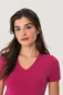 Preview: hakro, 126, Damen v-shirt-classic, magenta,