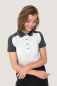 Preview: hakro, 239, Damen-Contrast-Poloshirt Performance, weiss,
