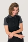 Preview: hakro, 239, Damen-Contrast-Poloshirt Performance, schwarz,