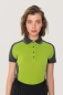 Preview: hakro, 239, Damen-Contrast-Poloshirt Performance, kiwi,
