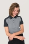 Preview: hakro, 239, Damen-Contrast-Poloshirt Performance, titan,