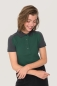 Preview: hakro, 239, Damen-Contrast-Poloshirt Performance, tanne,