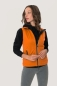 Preview: HAKRO 254, Damen Light-Softshellweste Sarina,orange,