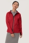 Preview: HAKRO 256, Damen Light-Softshelljacke Sidney,rot,