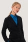 Preview: HAKRO 260, Damen Sweatblazer Premium,schwarz,