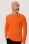 Preview: hakro, 279, Funktions Langarm T-Shirt, orange,