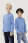 Preview: hakro, 415, Kinder Langarm T-Shirt, malibublue,