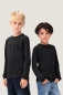 Preview: hakro, 415, Kinder Langarm T-Shirt, schwarz,