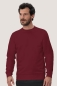 Preview: hakro, 475, Sweatshirt Performance, weinrot,
