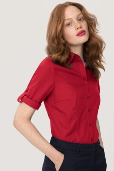 ikelname Bluse Vario 3/4 Arm Performance, rot,
