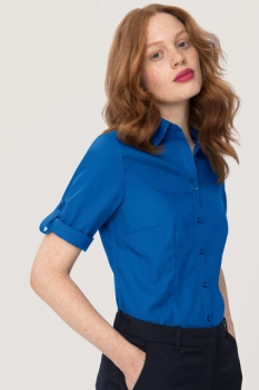 ikelname Bluse Vario 3/4 Arm Performance, royalblau,