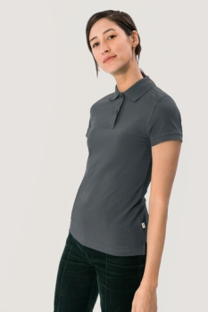 HAKRO 224, Damen Poloshirt Top, anthrazit,