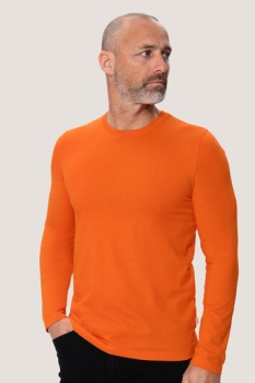 hakro, 279, Funktions Langarm T-Shirt, orange,