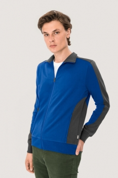 hakro, 477, Sweatshirt Performance, royalblau / anthracite,