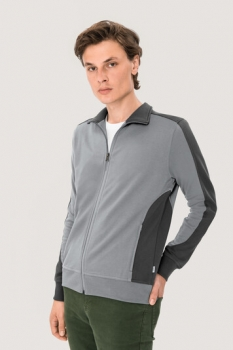 hakro, 477, Sweatshirt Performance, titan / anthracite,