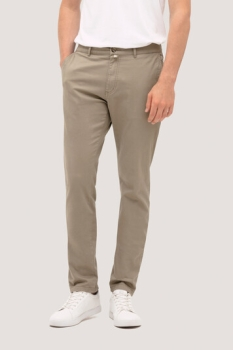 HAKRO 721, Chinohose Stretch,khaki,