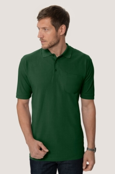 hakro, 812, Pocket-Poloshirt Performance, tanne,