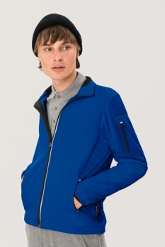 HAKRO 856, Light-Softshelljacke Brantford,royalblau,