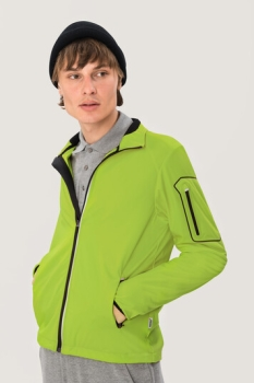 HAKRO 856, Light-Softshelljacke Brantford,kiwi,