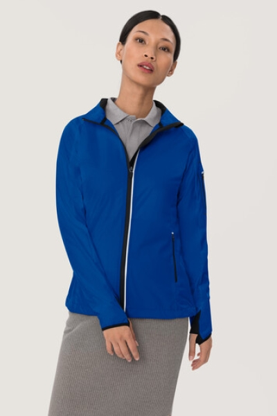 HAKRO 256, Damen Light-Softshelljacke Sidney,royalblau,