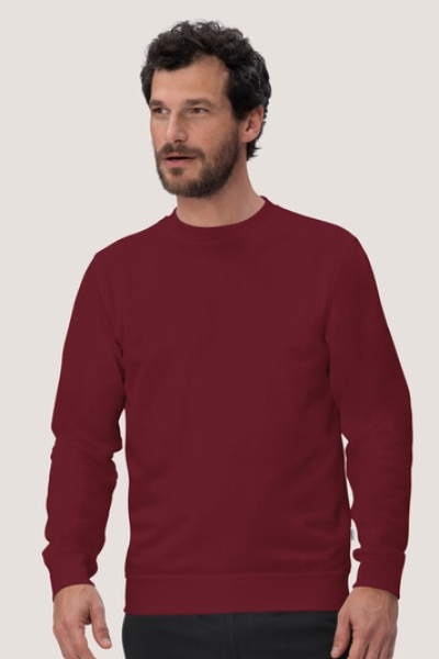 hakro, 475, Sweatshirt Performance, weinrot,