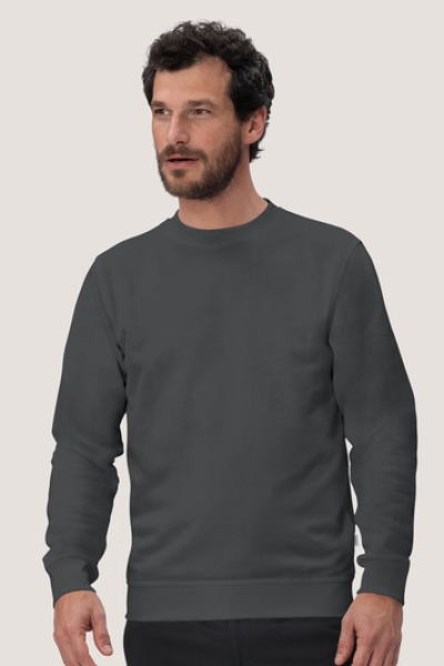 hakro, 475, Sweatshirt Performance, anthracite,
