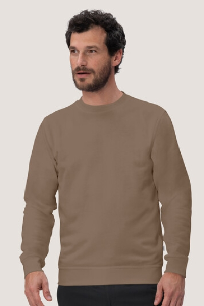 hakro, 475, Sweatshirt Performance, nougat,