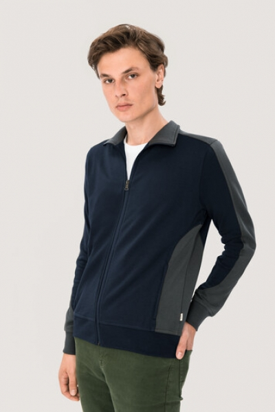 hakro, 477, Sweatshirt Performance, tinte / anthracite,