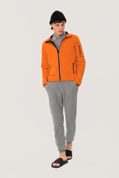 HAKRO 856, Light-Softshelljacke Brantford,orange,